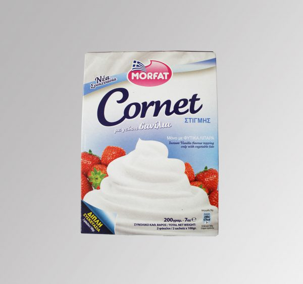 Morfat Cornet Vanilla (200 g)