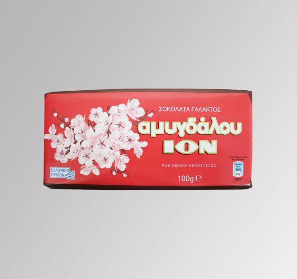 Schokolade Vollmilch Mandel (100 g)