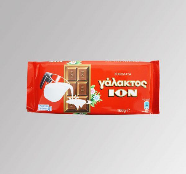 Schokolade Vollmilch Ion (100 g)